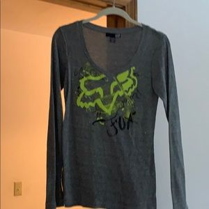 Thermal top Fox long sleeve, new without tags